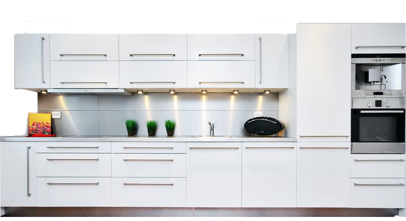 White Dezino Kitchen Cabinet